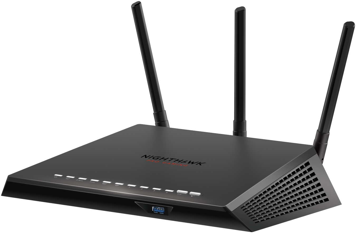 AC2600 Nighthawk<sup><sup>®</sup></sup> Pro WiFi-gamingrouter
